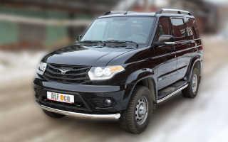 Технические характеристики автомобиля УАЗ Патриот 2014 года выпуска