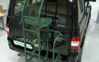 Задняя дверь на УАЗ Патриот