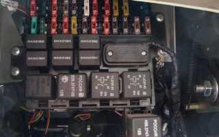 Схемы расположения предохранителей на УАЗ Патриот
