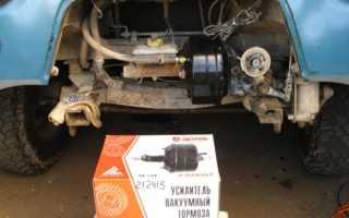 """Вакуумный усилитель тормозов УАЗ """"Буханка"""": как проверить агрегат"""