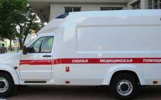 Новая модель УАЗа для оказания скорой помощи