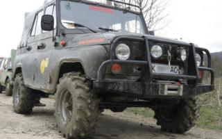 Тракторная резина на УАЗ: ставить или нет
