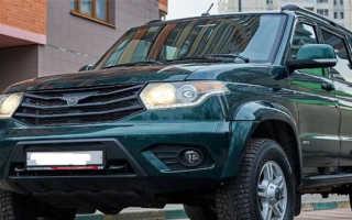 Описание автомобиля УАЗ Патриот 2016
