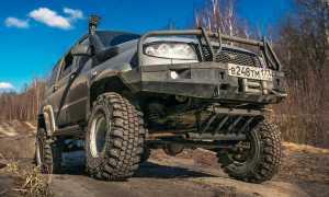 Нормативные показатели давления в шинах УАЗ