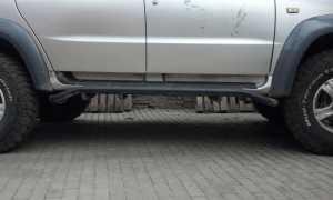 Замена или ремонт порогов на УАЗ Патриот