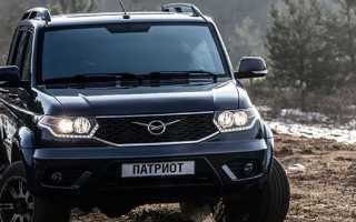 Обзор автомобиля УАЗ Патриот 2019