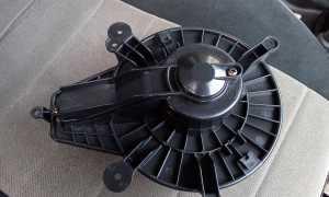 Мотор отопителя УАЗ Патриот