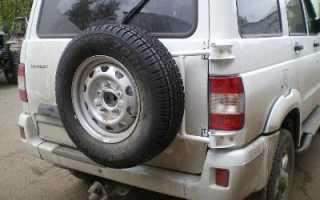Калитка для запасного колеса УАЗ Патриот