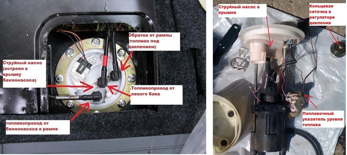 Как устроен топливный насос УАЗ Патриот
