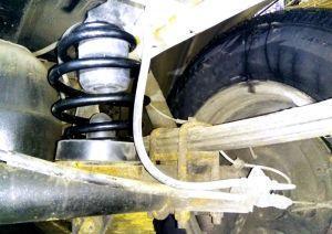 Лифтинг задней подвески УАЗ