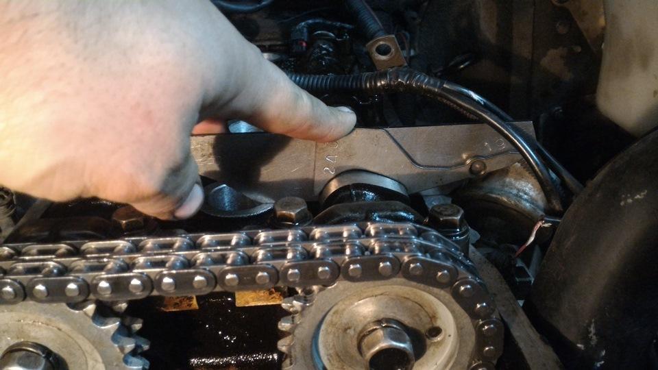 Пошаговый процесс замены цепи ГРМ на УАЗ Патриот