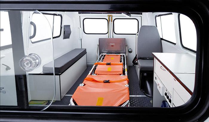 Вид с кабины водителя