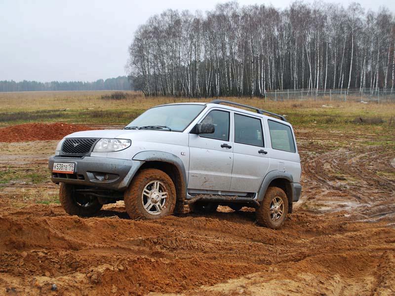 Движение по грязи