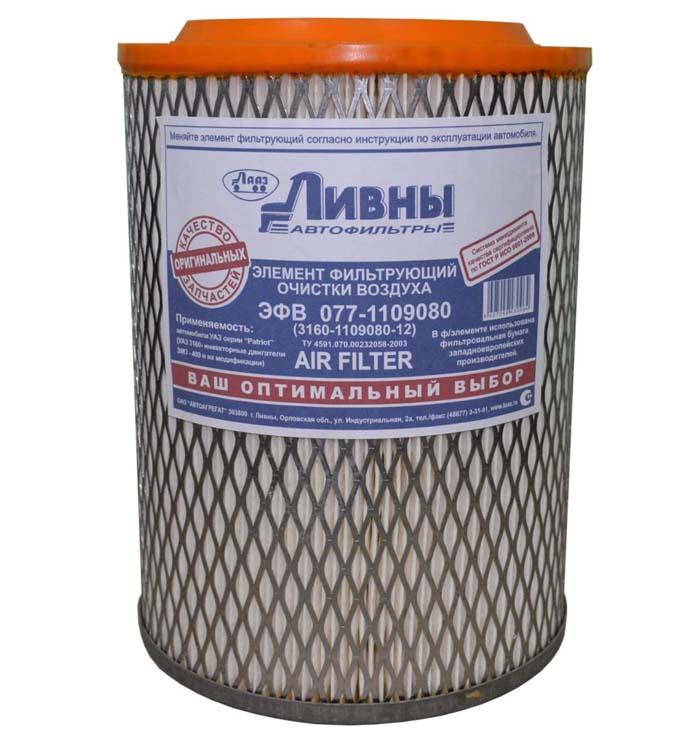 Воздушный фильтр на УАЗ Патриот