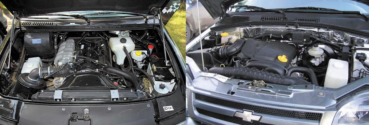 Двигатели УАЗ и Нивы