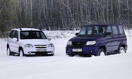 Сравнение УАЗ и Нивы